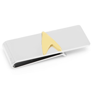 Star Trek Two Tone Delta Shield Money Clip