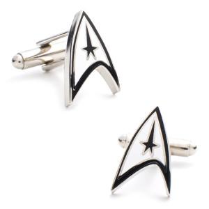 Star Trek Delta Shield Cufflinks
