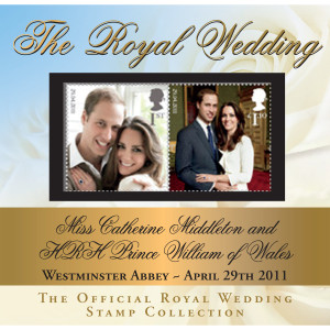OFFICIAL ROYAL WEDDING COMMEMORATIVE COVER WITH ROYAL MAIL POSTMARK