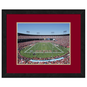 Candlestick Park-49ers-High Resolution framed photography