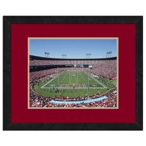 Candlestick Park-49ers-High Resolution framed photography