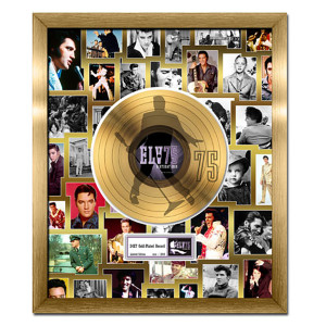 Elvis Presley 75th Birthday Celebration Gold Record, Limited Edition 2010