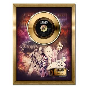Elvis Presley Viva Las Vegas - 24kt gold record
