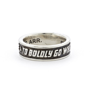 Star Trek x RockLove Sterling Mission Band