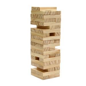 Wood Tumbling Tower Game