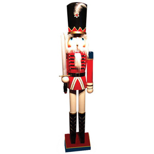 "60"" Red Royal guard w/ Sword"