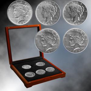 Denver Mint Peace Dollars