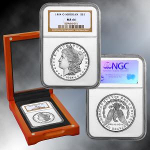 "Last ""O"" Mint Morgan Silver Dollar MS64 Condition"