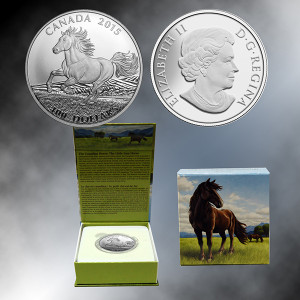 2015 Canada $100 Horse