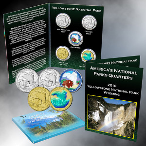 Yellowstone National Park Quarter, WY