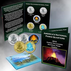 Hawaii Volcanoes National Park Quarter, HA