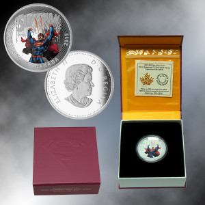 2015 Canada $20 Silver Superman (Superman #28) Proof