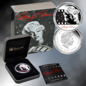 2012 Marilyn Monroe 1oz Silver Proof