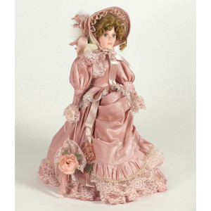 Christine Doll with Stand