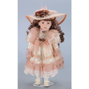Jane Child Doll with Stand