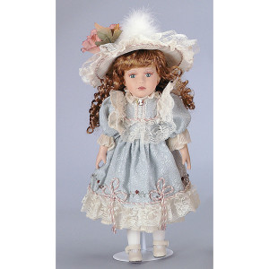 Marianne Child Doll with Stand