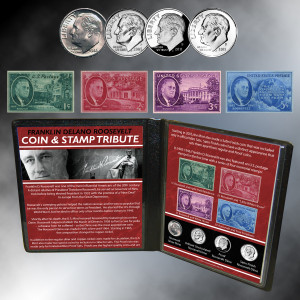 FDR Coin & Stamp Tribute