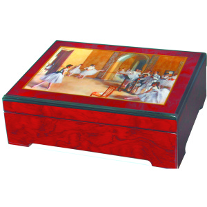 Degas Ballerina Dance Class Jewelry Box