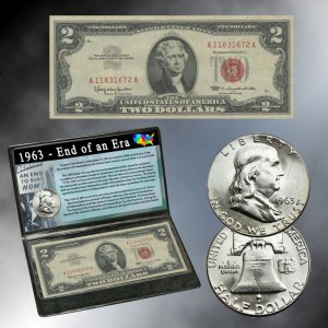 1963 End Of An Era Coin And Currency Set