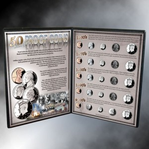 50 Years Of Proof Coins
