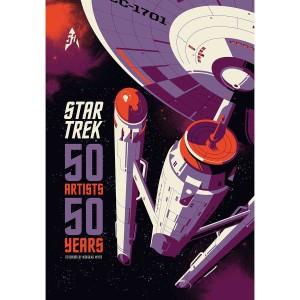 Star Trek: 50 Artists 50 Years (Hardcover) Book