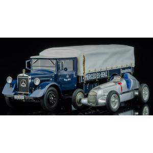 CMC 1934 Mercedes-Benz Racecar Transporter + W25 T Car, Lim Ed 1000
