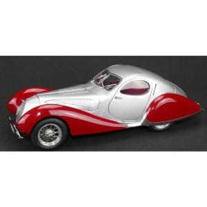 CMC Talbot T150C Coupe, Silver/Red, Fiagoni & Falaschi, Lim Ed 1500
