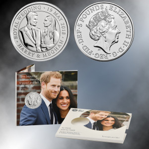 The Royal Wedding 2018 UK £5 Brilliant Uncirculated Coin