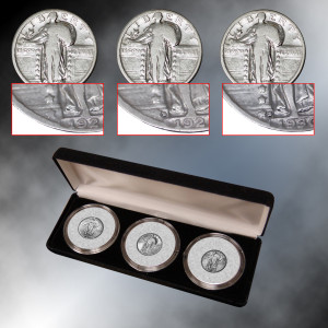 Standing Liberty Quarter Mint Mark Collection