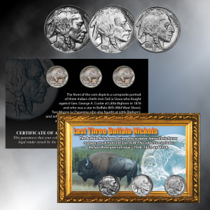 Last 3 Buffalo Nickels