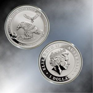 2018-P $1 Australian 1 oz. Silver Wedge-Tailed Eagle