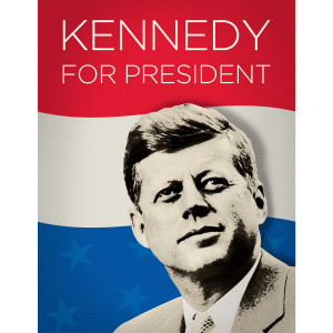 Franklin Mint Kennedy For President Giclee Poster [18x24]