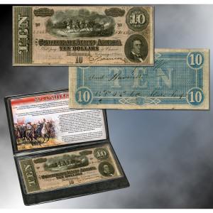 Confederate $10 Note