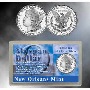 Morgan Dollar New Orleans (O) Mint