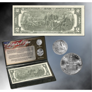 Birth of a Nation Coin & Currency Set