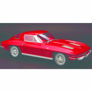 1963 Chevrolet Corvette Stingray in Riverside Red