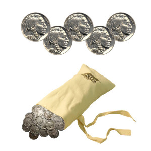 Buffalo Nickels - 0.25-Lb. Bag