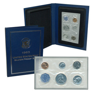 1963 Silver Proof Set