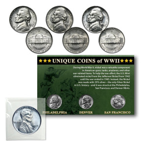 Unique Coins of WWII