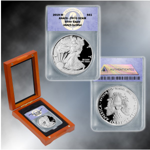 2019 PR70 Silver Eagle Dollar
