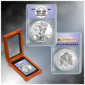 2019 MS70 Silver Eagle Dollar