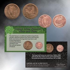 Lucky Irish Pennies - Then and Now