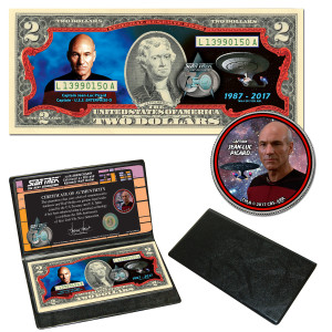 Star Trek:TNG Coin & Currency Set - Picard