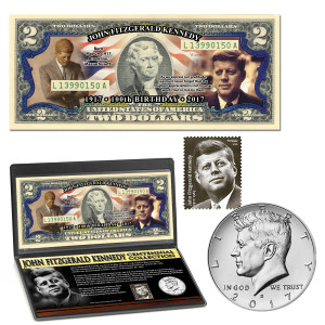 JFK Centennial Coin & Currency Collection