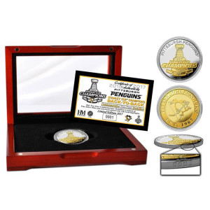 2017 Stanley Cup Champions Two-Tone Mint Coin