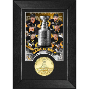 Pittsburgh Penguins 2017 Stanley Cup Champions M-Series Photo Mint