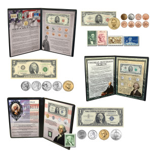 President's Tribute Collection - Washington, Jefferson and Lincoln