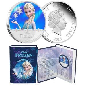 """Disney Frozen """"Elsa"""" 1oz Silver Coin"""