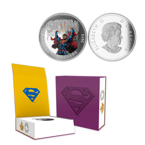 2015 Canada $20 Silver Superman (Superman Unchained #2) Proof
