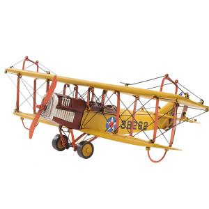 1918 Yellow Curtiss JN-4 1:24